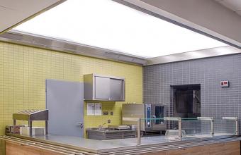 Hote pentru bucatarii profesionale, tavane ventilate