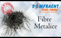 Fibre metalice pentru armarea betoanelor ROM FRACHT ofera o gama variata de fibre metalice, acestea sunt folosite pentru armarea dispersa, cu utilizare structurala sau nestructurala, in betoane.