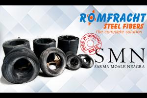Sarma moale neagra pentru constructii Sarma Moale Neagra ROMFRACHT este o sarma maleabila din otel, larg utilizata in domeniul constructiilor pentru legarea armaturilor, pentru fixarea cofrajelor sau diverse alte legaturi.
