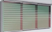 Jaluzele verticale si panouri glisante  Jaluzelele asigura o protectie optima impotriva razelor soarelui care pot genera o supra-incalzire a climatului interior, asigurand o absorbtie echilibrata a razelor oferind o lumina uniforma.