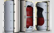 Buffere pentru apa calda Bufferele sunt echipamente de acumulare termica inertiala care se monteaza intre un cazan pe combustibil solid si instalatie de incalzire pe care o deserveste.