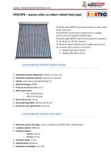 Panouri solare cu tuburi vidate Heat Pipe SONTEC