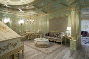 Aplicare foita de aur, argint pe mobilier si diferite spatii Desi utilizat din inca din cele mai vechi timpuri, mestesugul auritului ramane una din cele mai actuale metode de infrumusetare a obiectelor de mobilier si chiar a spatiilor.