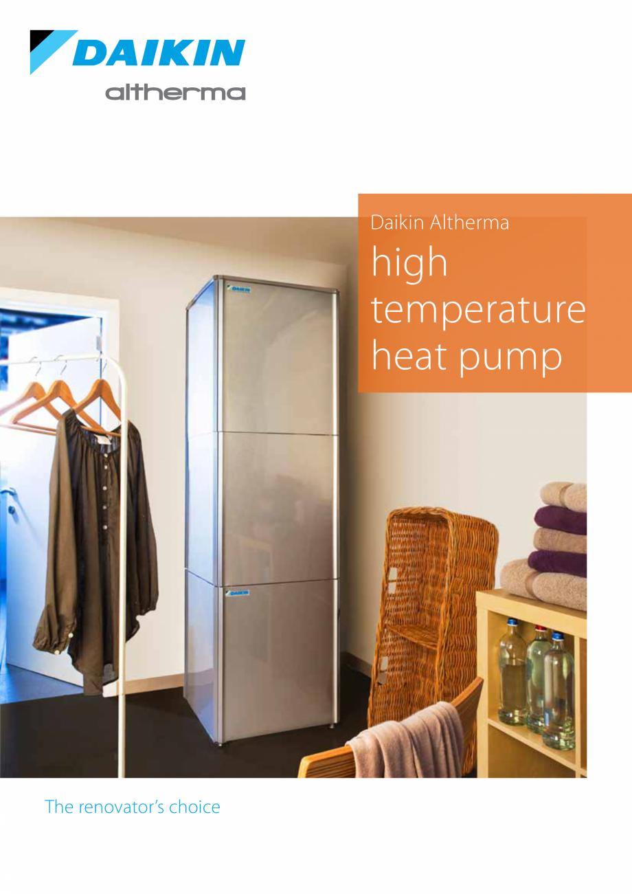 Pagina 3 - Pompa de caldura de temperatura ridicata DAIKIN R HT Fisa tehnica Engleza nal % space...