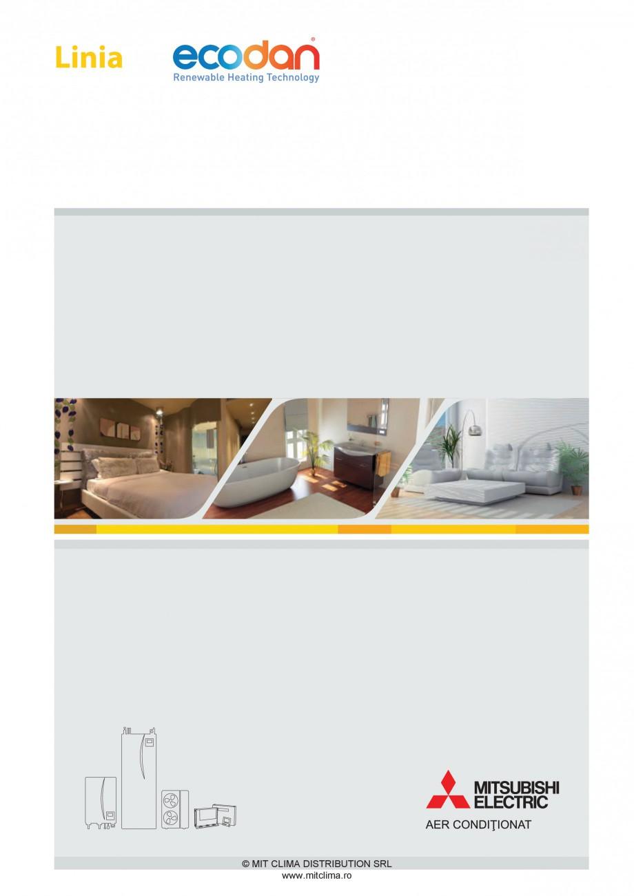 Pagina 1 - Pompe de caldura MITSUBISHI ELECTRIC ZUBADAN PUHZ-SHW80VHA, ZUBADAN PUHZ-SHW112YHA,...