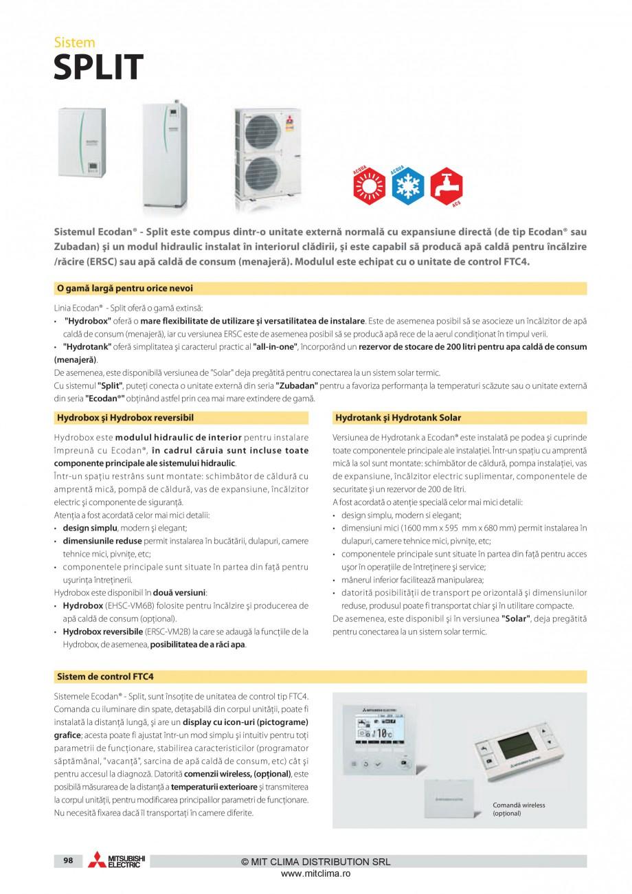 Pagina 7 - Pompe de caldura MITSUBISHI ELECTRIC ZUBADAN PUHZ-SHW80VHA, ZUBADAN PUHZ-SHW112YHA,...