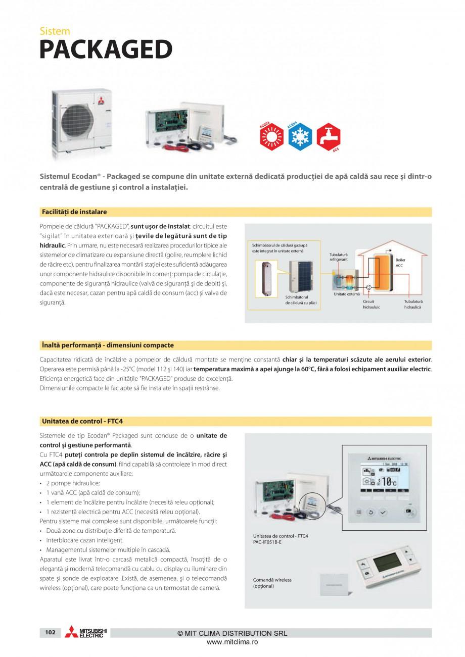 Pagina 11 - Pompe de caldura MITSUBISHI ELECTRIC ZUBADAN PUHZ-SHW80VHA, ZUBADAN PUHZ-SHW112YHA,...