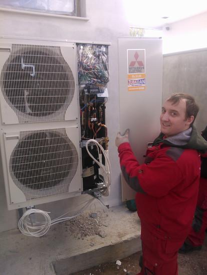 Instalatie cu pompa de caldura Aer-Apa - Zubadan 5 ZUBADAN PUHZ-SHW80VHA ZUBADAN PUHZ-SHW112YHA ZUBADAN PUHZ-SHW140YHA ZUBADAN