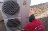 Pompe de caldura Aer-Apa Pompele de caldura aer-apa sau aer-aer Mitsubishi Electric sunt
