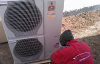 Pompe de caldura Aer-Apa Pompele de caldura aer-apa sau aer-aer Mitsubishi Electric sunt alternativa serioasa la sistemele conventionale de incalzire ce folosesc gaz, GPL sau combustibil solid.