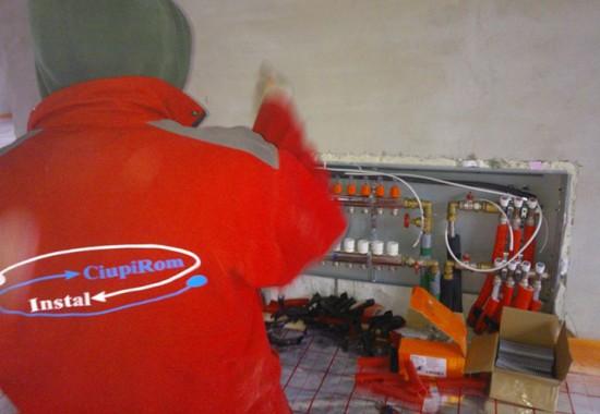 Instalare sisteme de incalzire in pardoseala CIUPIROM INSTAL