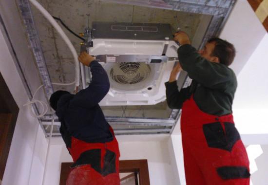 Montaj instalatii de climatizare si recuperare de caldura CIUPIROM INSTAL
