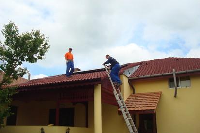 Montaj panouri solare Rotex sistem Inteligent Dray Bach / Montaj panouri solare plane Rotex 16