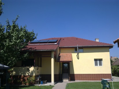 Montaj panouri solare Rotex sistem Inteligent Dray Bach / Montaj panouri solare plane Rotex 27