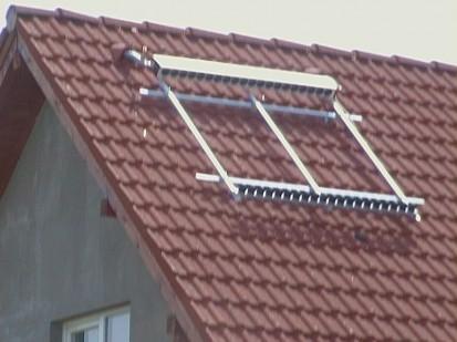 Montaj panouri solare cu tuburi vidate / Montaj panouri solare cu tuburi vidate 1