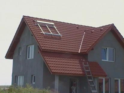 Montaj panouri solare cu tuburi vidate / Montaj panouri solare cu tuburi vidate 3