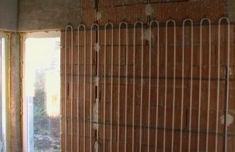 Montaj incalzire si racire prin tavan sau perete