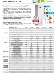 Sistem de pompare de caldura  5-22 kW cu tehnologia Inverter