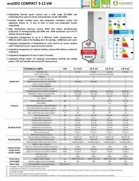 Sistem de pompare de caldura 3-12 kW cu tehnologia Inverter