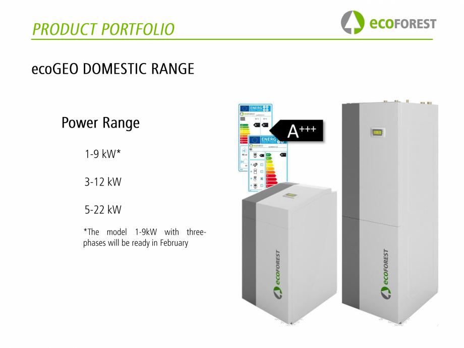 Pagina 3 - Pompe de caldura  ecoFOREST ecoGEO Basic, ecoGEO Compact, ecoGEO HP, ecoAIR Monobloc,...
