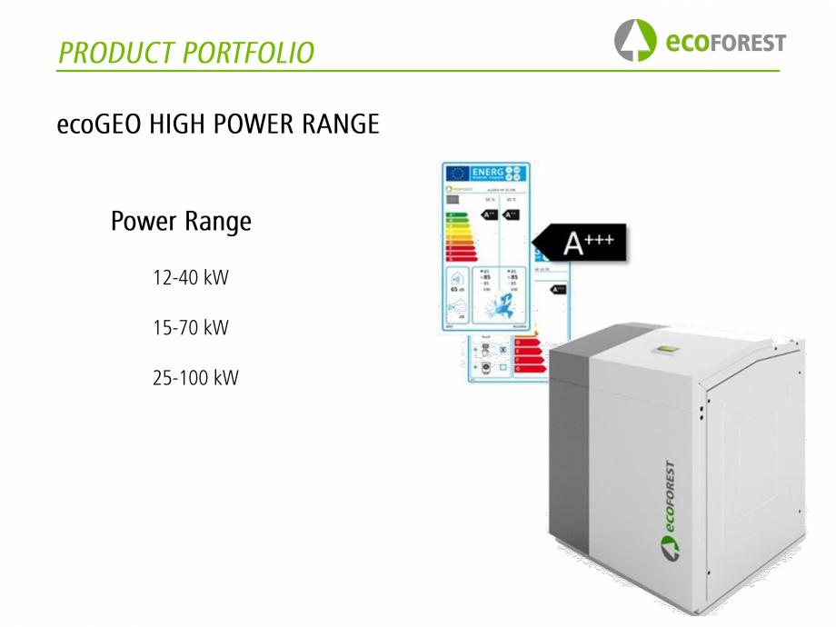 Pagina 4 - Pompe de caldura  ecoFOREST ecoGEO Basic, ecoGEO Compact, ecoGEO HP, ecoAIR Monobloc,...