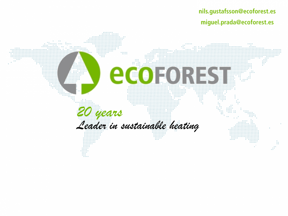 Pagina 1 - Prezentare pompe de caldura ecoFOREST ecoGEO HP, ecoGEO Compact, ecoGEO Basic Catalog,...