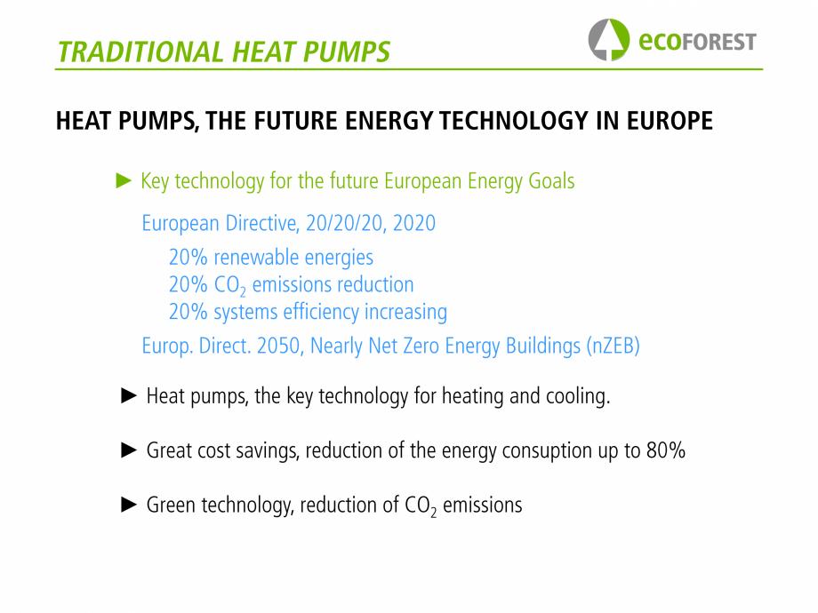 Pagina 7 - Prezentare pompe de caldura ecoFOREST ecoGEO HP, ecoGEO Compact, ecoGEO Basic Catalog,...