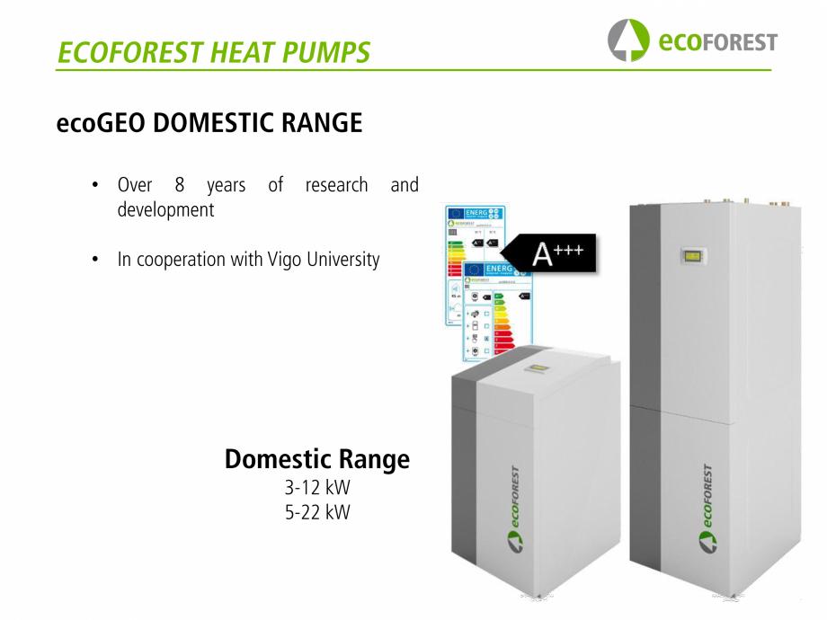 Pagina 10 - Prezentare pompe de caldura ecoFOREST ecoGEO HP, ecoGEO Compact, ecoGEO Basic Catalog,...