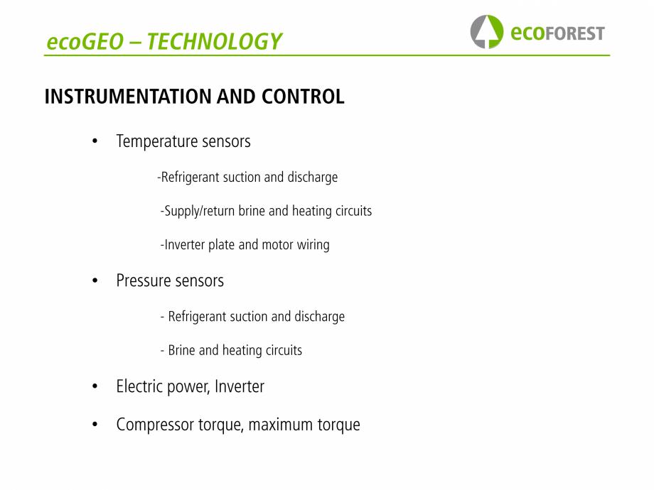 Pagina 22 - Prezentare pompe de caldura ecoFOREST ecoGEO HP, ecoGEO Compact, ecoGEO Basic Catalog,...