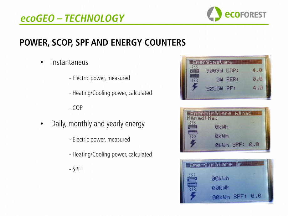 Pagina 23 - Prezentare pompe de caldura ecoFOREST ecoGEO HP, ecoGEO Compact, ecoGEO Basic Catalog,...