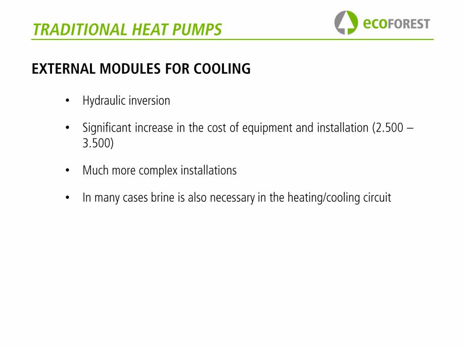 Pagina 35 - Prezentare pompe de caldura ecoFOREST ecoGEO HP, ecoGEO Compact, ecoGEO Basic Catalog,...