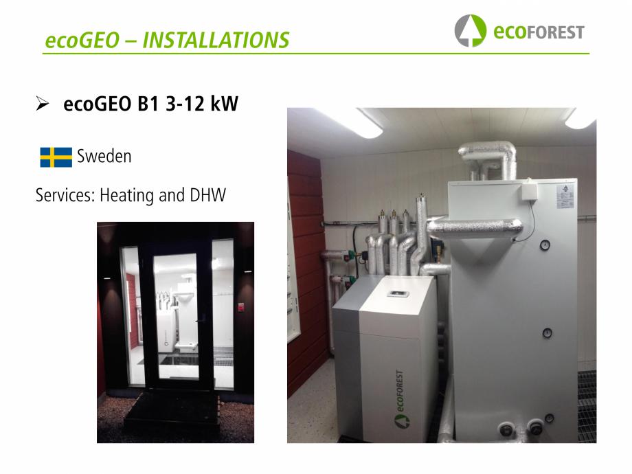 Pagina 39 - Prezentare pompe de caldura ecoFOREST ecoGEO HP, ecoGEO Compact, ecoGEO Basic Catalog,...