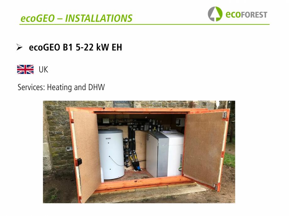 Pagina 41 - Prezentare pompe de caldura ecoFOREST ecoGEO HP, ecoGEO Compact, ecoGEO Basic Catalog,...