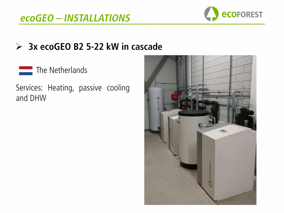 Pagina 42 - Prezentare pompe de caldura ecoFOREST ecoGEO HP, ecoGEO Compact, ecoGEO Basic Catalog,...