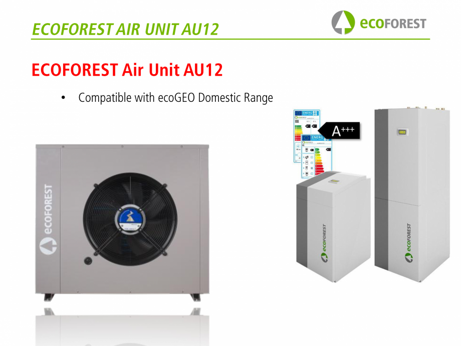 Pagina 43 - Prezentare pompe de caldura ecoFOREST ecoGEO HP, ecoGEO Compact, ecoGEO Basic Catalog,...