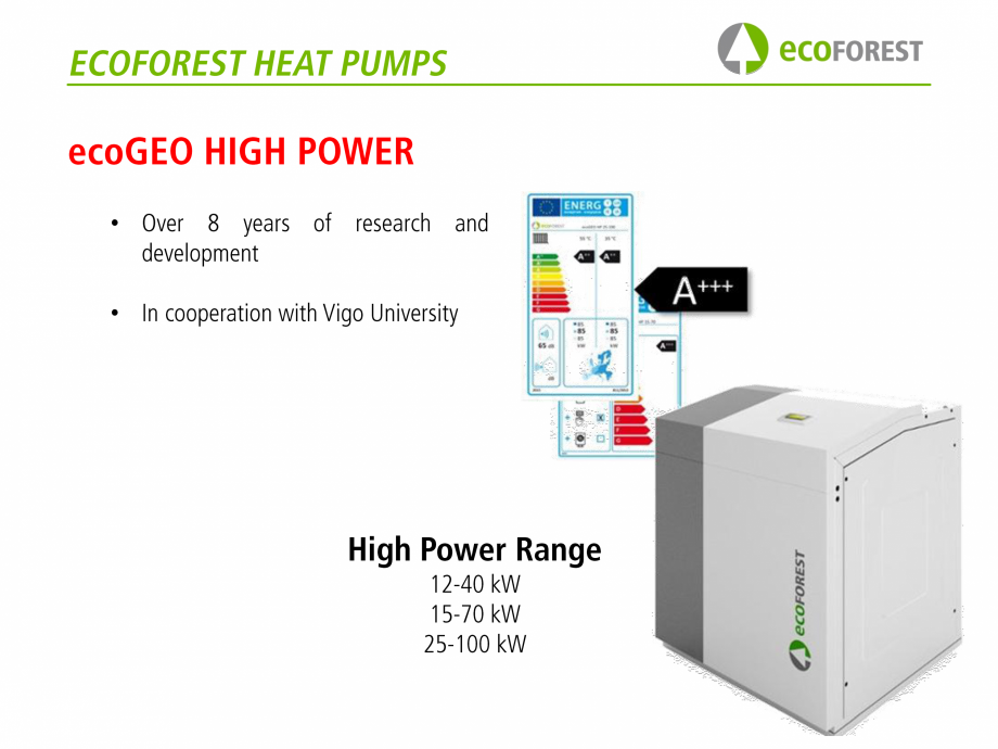 Pagina 48 - Prezentare pompe de caldura ecoFOREST ecoGEO HP, ecoGEO Compact, ecoGEO Basic Catalog,...