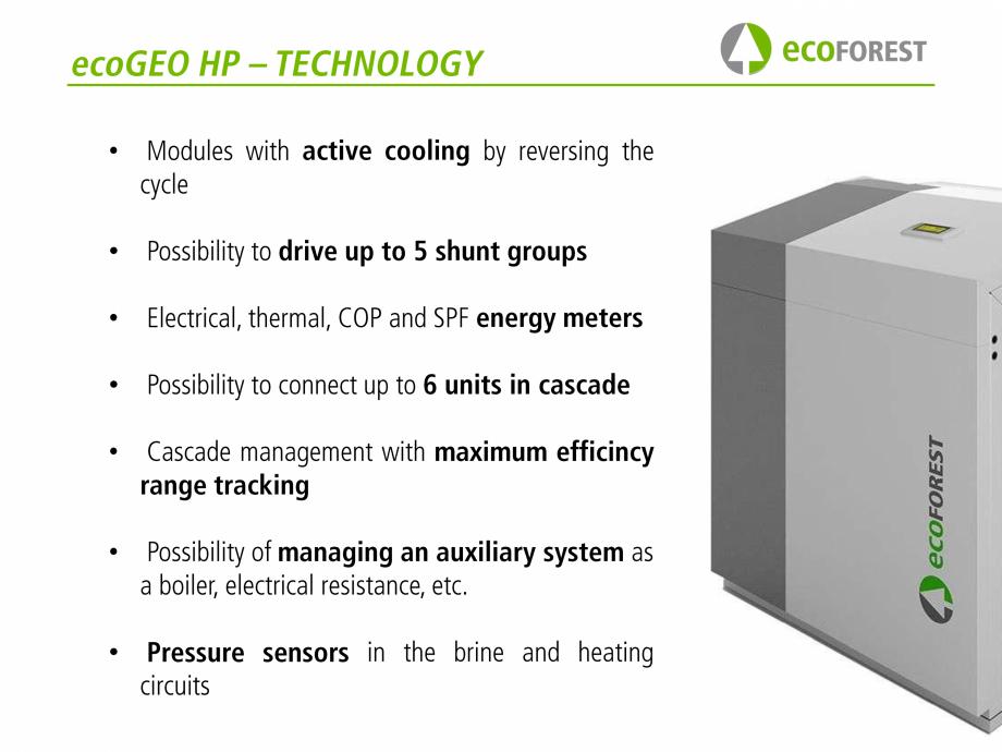 Pagina 53 - Prezentare pompe de caldura ecoFOREST ecoGEO HP, ecoGEO Compact, ecoGEO Basic Catalog,...