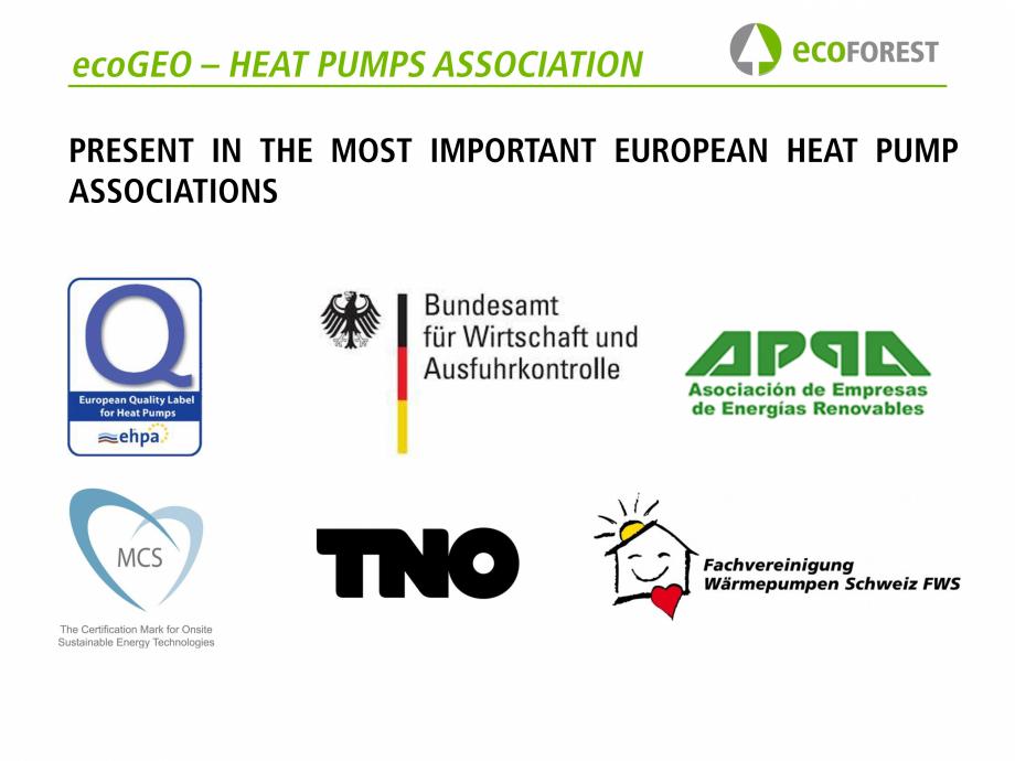 Pagina 74 - Prezentare pompe de caldura ecoFOREST ecoGEO HP, ecoGEO Compact, ecoGEO Basic Catalog,...