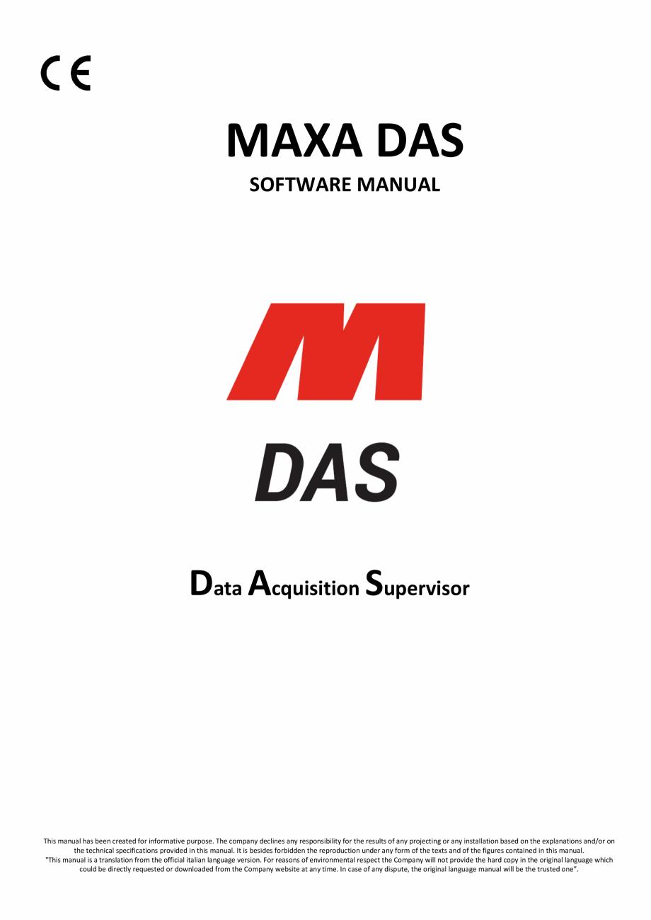 Sistem de monitorizare MAXA DAS pentru chillere si pompe