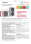 Pompa de caldura Inverter monobloc - 6-16 kW MAXA - i-HWAK/WP/V4
