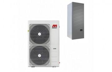 Pompe de caldura aer-apa  Pompele de caldura MAXA sunt pompe de tip Aer-Apa ce folosesc energia din aer pentru a incalzi apa, utilizand astfel, in mod inteligent, energia inepuizabila din natura fara a avea nevoie de gaz, lemn sau motorina.