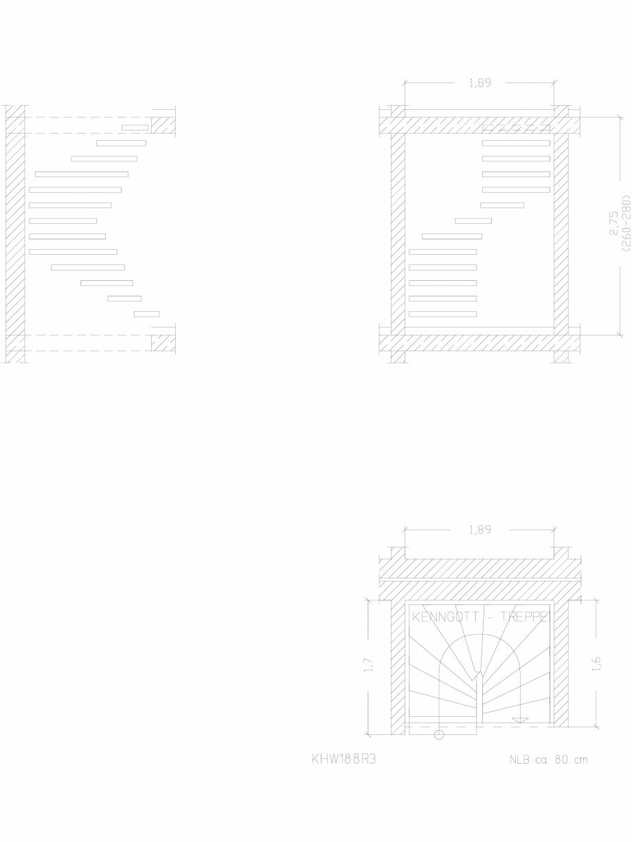 Pagina 1 - CAD-DWG Scara pe structura de metal - KHW188R3 SCARI RO Detaliu de produs