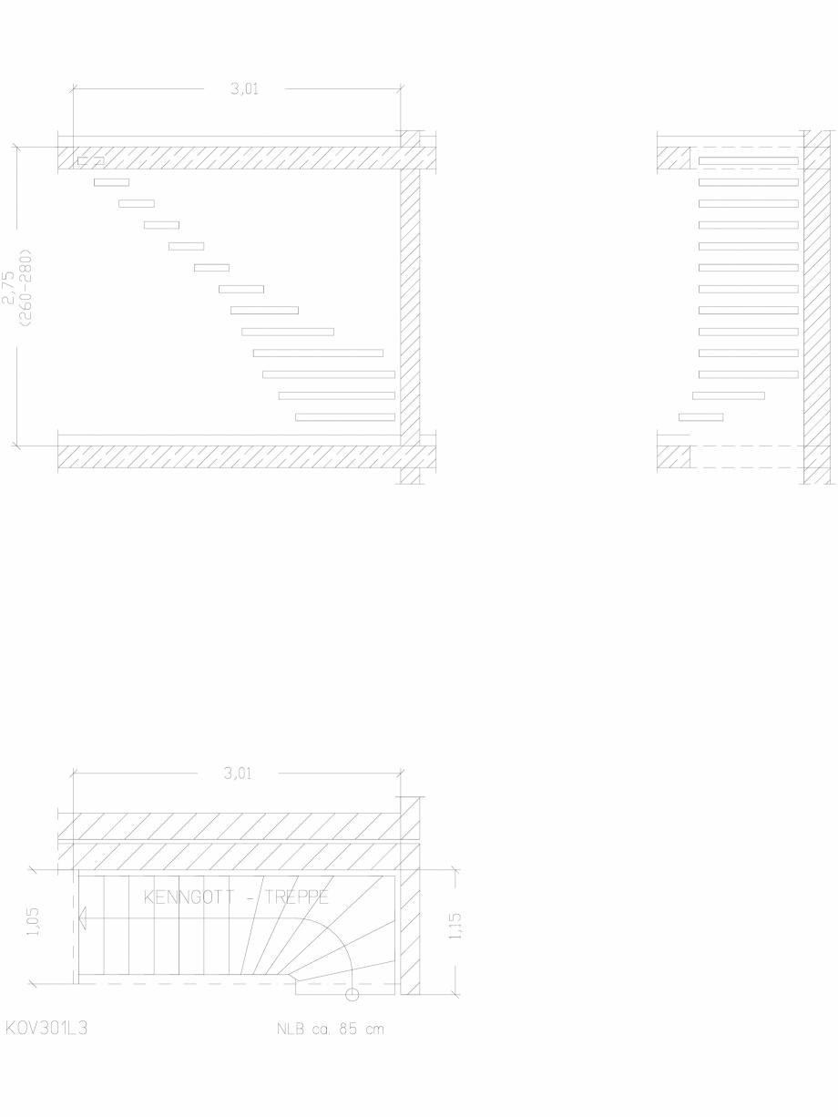Pagina 1 - CAD-DWG Scara pe structura de metal - KOV301L3 SCARI RO Detaliu de produs
