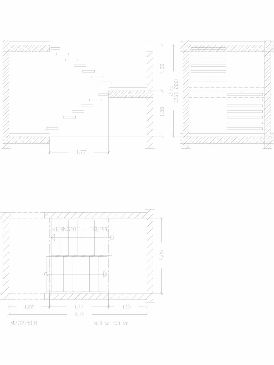 Pagina 1 - CAD-DWG Scara pe structura de metal - M2G226L6 SCARI RO Detaliu de produs