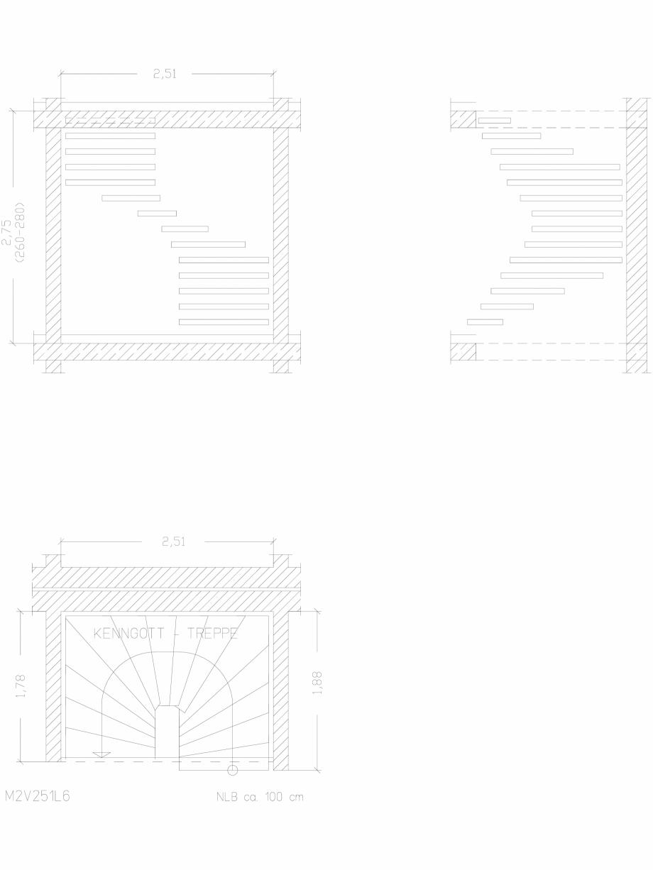 Pagina 1 - CAD-DWG Scara pe structura de metal - M2V251L6 SCARI RO Detaliu de produs