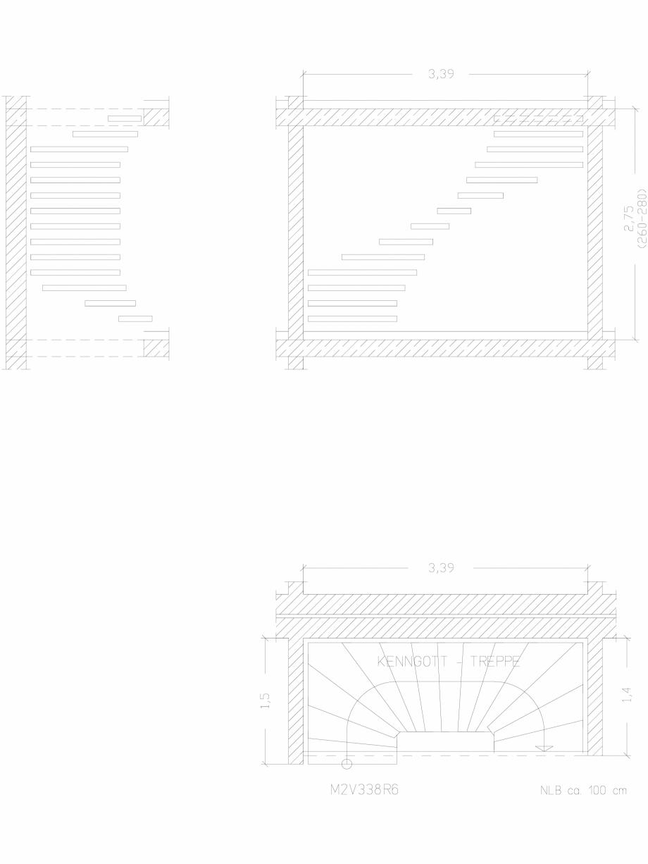 Pagina 1 - CAD-DWG Scara pe structura de metal - M2V338R6 SCARI RO Detaliu de montaj