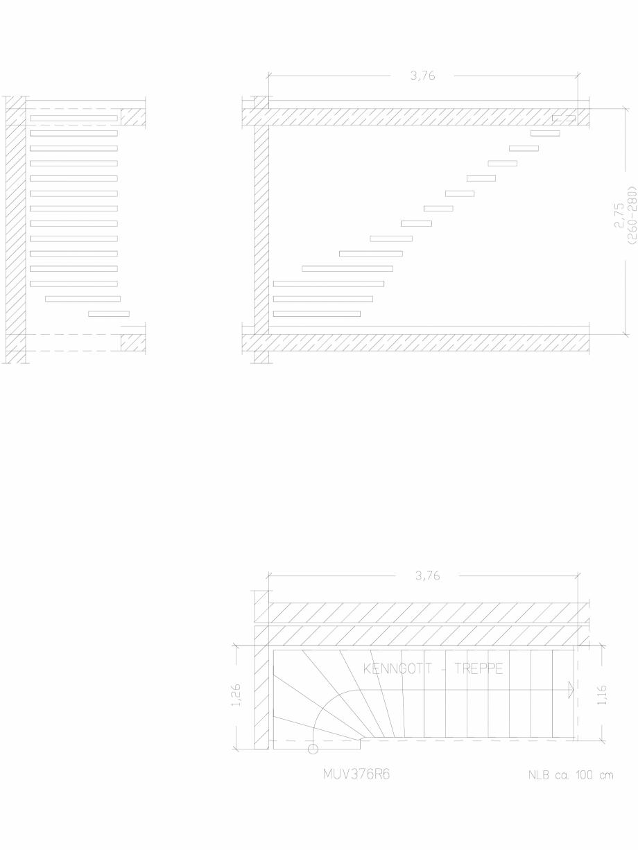 Pagina 1 - CAD-DWG Scara pe structura de metal - MUV376R6 SCARI RO Detaliu de produs