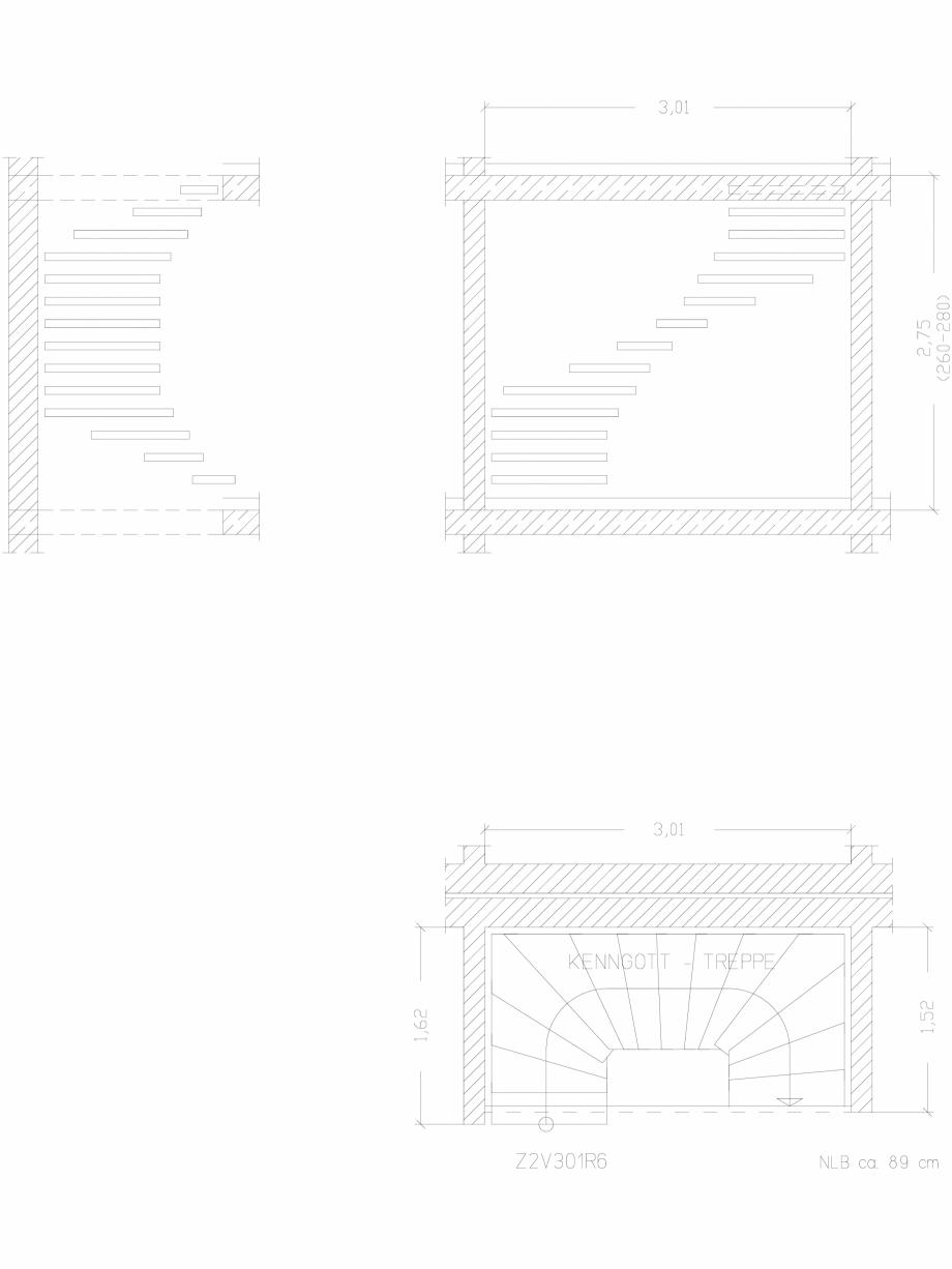 Pagina 1 - CAD-DWG Scara pe structura de metal - Z2V301R6 SCARI RO Detaliu de produs