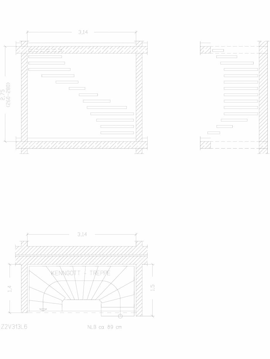Pagina 1 - CAD-DWG Scara pe structura de metal - Z2V313L6 SCARI RO Detaliu de produs