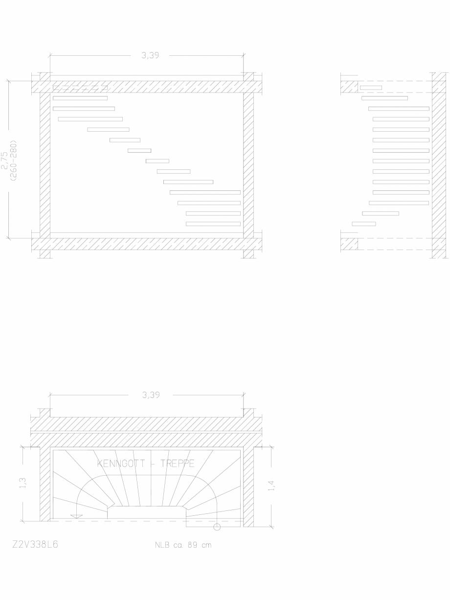 Pagina 1 - CAD-DWG Scara pe structura de metal - Z2V338L6 SCARI RO Detaliu de produs